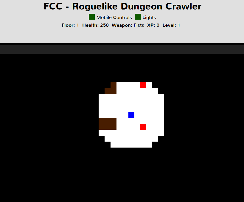 Free Code Camp - Roguelike Dungeon Crawler